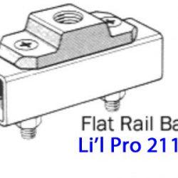 Driftmaster Li'l Pro 211-B or 211-BL Flat Rail Base