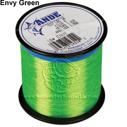 1//4# Spool 250 yards Pounds Test 50 Ande Monofilament Line Clear