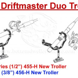 Driftmaster 455-H and 455-HL Pro Duo Troller Rod Holders