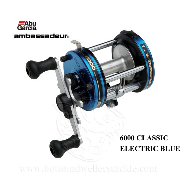 Abu Garcia 6000EB Reel - Electric Blue