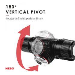 Nebo Transcend 1000 Lumen Rechargeable Headlamp