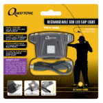 Quarrow Rechargeable COB LED Cap-Light