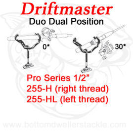 Driftmaster Pro Series Duo Rod Holders 255-H and 255-HL
