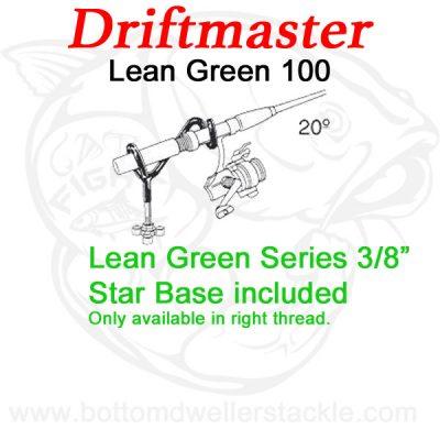 Driftmaster Lean-Green Series 100 Rod Holder w/ star base