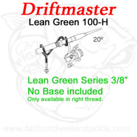 Driftmaster Lean-Green Series 100-h Rod Holder w flat rail base.psd