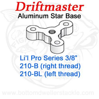 Driftmaster Li'l Pro Series Rod Holder Bases 210-B or 210-BL Star