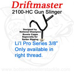 Driftmaster Li'l Pro Series 2100-H Gun Slinger Rod Holder
