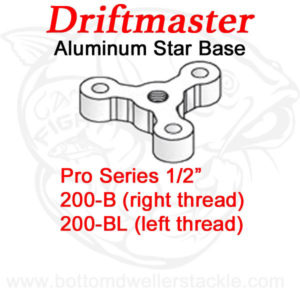 Driftmaster Pro Series Rod Holder Bases 200-B and 200-BL Star