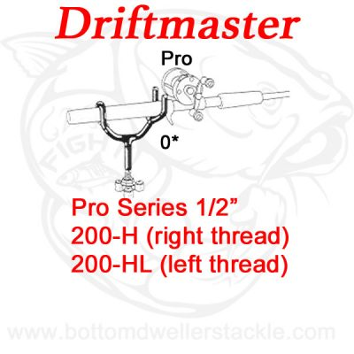 Driftmaster Pro Series Pro Rod Holders 200-H and 200-HL