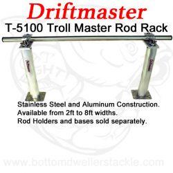 Driftmaster T-5100 Troll Master Rod Rack
