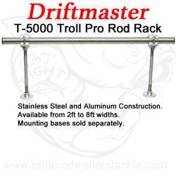 Driftmaster T-5000 Troll Pro Rod Rack