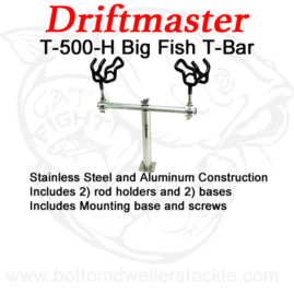 Driftmaster-T-Bar-T-500-H-with-rod-holders-and-bases
