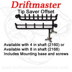Driftmaster 2160 or 2168 Tip Saver Rod Storage offset
