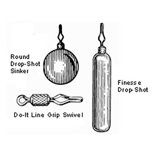 Do-IT Drop Shot Sinker Molds