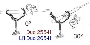 Driftmaster 255-H and 255-HL Pro Duo Rod Holders