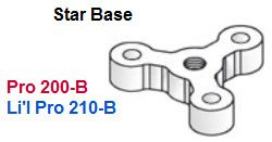 Driftmaster Li'l Pro 210-B or 210-BL Star Base