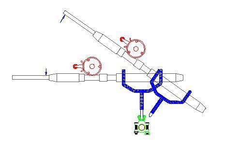 driftmaster rod holder drawing