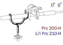 Driftmaster Lil Pro 210-H and 210-HL Rod Holders