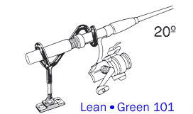 Lean Green Rod Holders