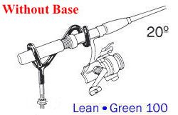 Driftmaster Lean-Green 100-H Rod Holder without base