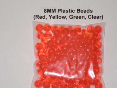 8MM Plastic Beads
