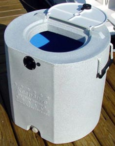 Keep Alive KA29460 30 Gallon Insulated Bait Tank With KA500 KeepAlive Oxygen Infusor