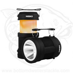 Nebo BIG POPPY Rechargeable 300 Lumen Flashlight and Lantern with Power Bank