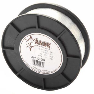 ANDE Premium Clear 1/2 lb spools