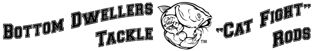 Bottom Dwellers Tackle - Cat Fight Rods bottom dwellers tackle Bottom Dwellers Tackle cat fight rod logo