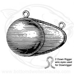 Do-IT Downrigger Ball Sinker Molds