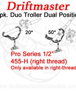 Driftmaster Pro Series Duo Rod Holders 455-H - 8 pack deal