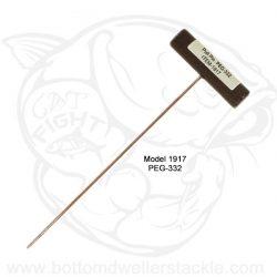 Do-It Molds Egg Sinker Pull Pin for Sizes 8 ounce and under, Model 1917 - PEG-332