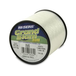 Hi-Seas Grand Slam Monofilament Fishing Line Clear - 1/4 Pound