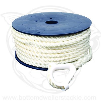 Invincible Marine 3 Strand Twisted Nylon Anchor Rope