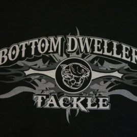 Bottom Dwellers Tackle T-Shirt - Black Tribal