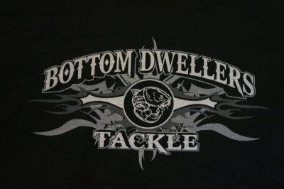 Bottom Dwellers Tackle T-Shirt - Black Tribal
