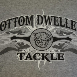 Bottom Dwellers Tackle T-Shirt - Gray