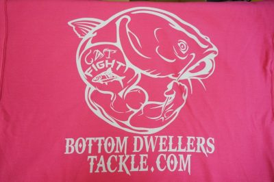 Bottom Dwellers Tackle T-Shirt - Pink Tribal