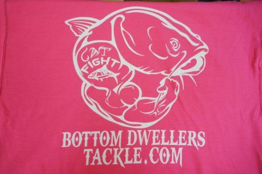 Bottom Dwellers Tackle T-Shirt - Pink Tribal