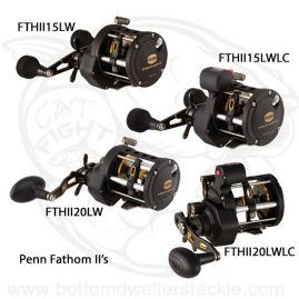 Penn Fathom 2 Level Wind Baitcast Reels