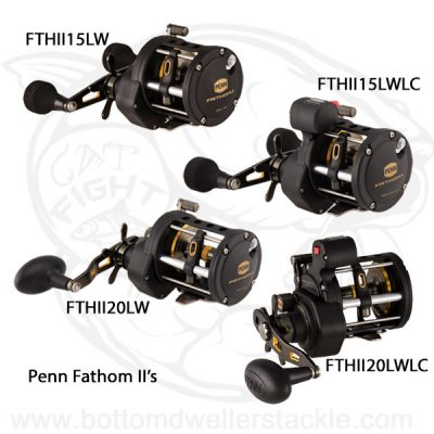 Penn Fathom 2 Level Wind Baitcast Reels