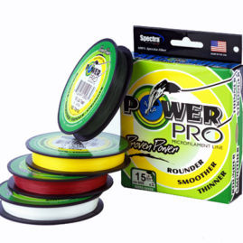 Power Pro Microfilament Braid Line 300 Yard Box