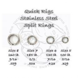 Heavy Duty Split Rings
