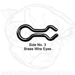 Do-It Brass Wire Eyes, Size - 3