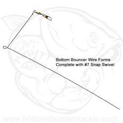 Do-It Bottom Bouncer Wire Forms for Bottom Bouncer Sinker Molds